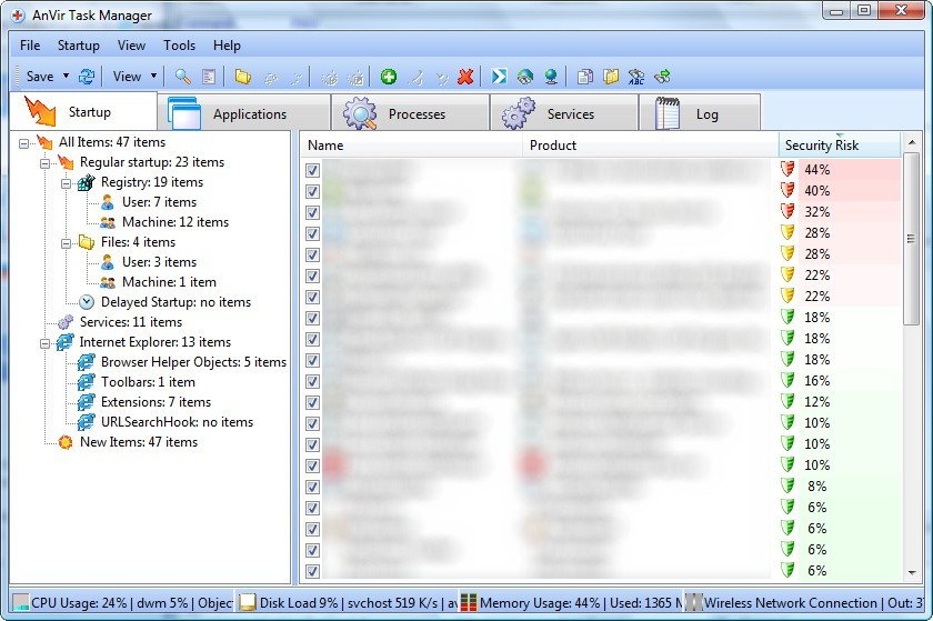 anvir task manager free windows 7