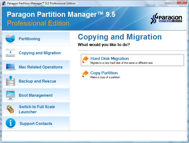 Paragon hard disk manager 16. 5 advanced (windows) • free pc tools.