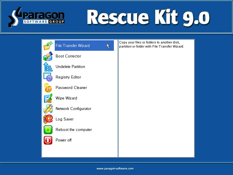 Buy Paragon Drive Backup Professional 8.5 code