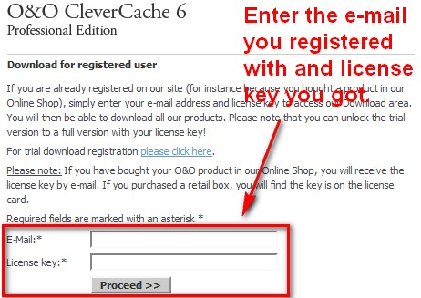 Free o&o clevercache download.