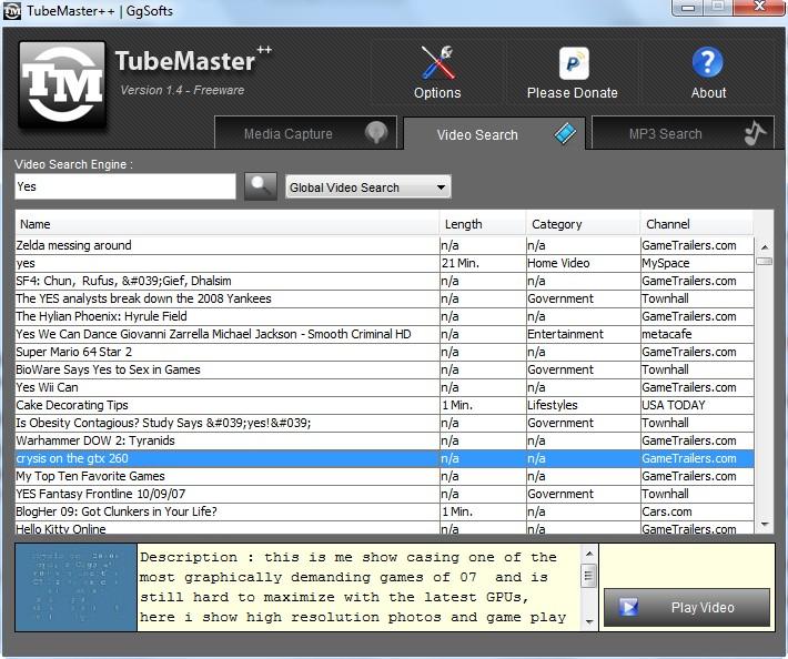 tubemaster linux