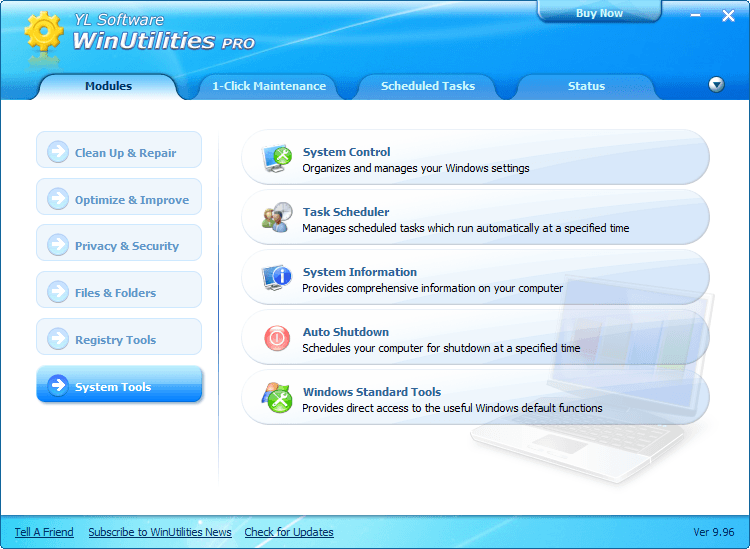 [Review] WinUtilities Professional Edition   dotTech
