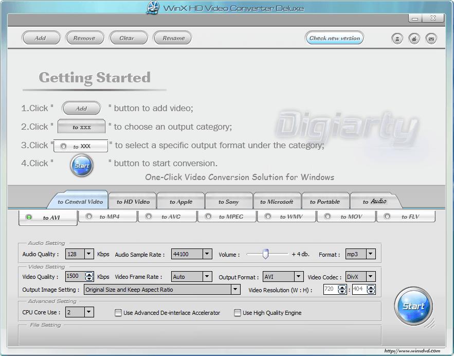 Free WinX HD Video Converter Deluxe! | dotTech