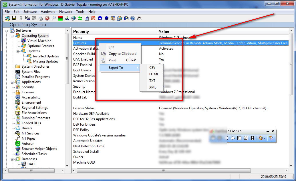 Review] System Information for Windows (Pro)   dotTech