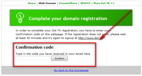 how to get a free website address domain
