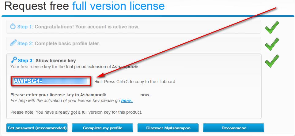 ashampoo 2013 license key