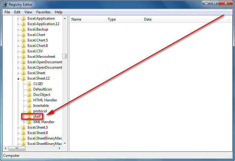 excel 2010 disable dde windows 7