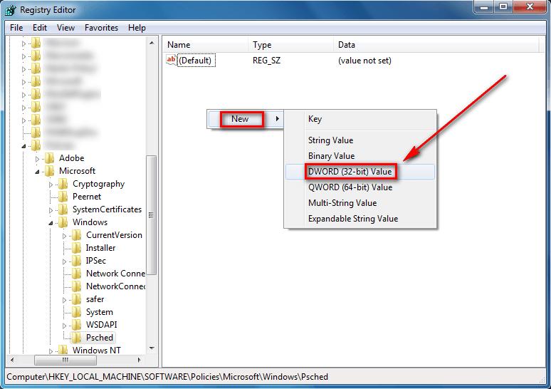 How To Use Qos Packet Scheduler Windows 7 - lostweek