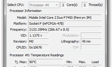 Core Temp 1.0 RC3