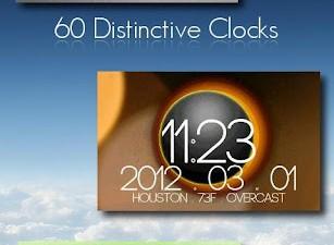 Clock Widgets Dottech