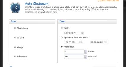 WinMend Auto Shutdown 1.3.1.0