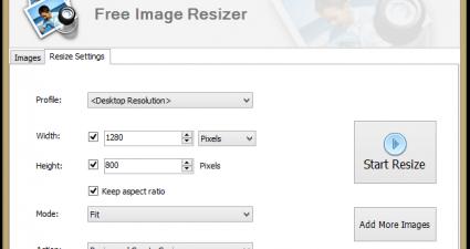 Free Image Resizer 1.4.1.0 ( Free Version )