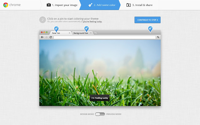 Chrome] Personalize your browser My Chrome Theme | dotTech