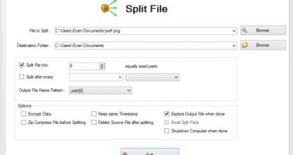 Split Byte Portable V1.0 - 4dots Software