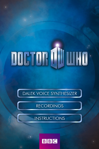 iPhone] Sound like a villian from Doctor Who with iAmADalek