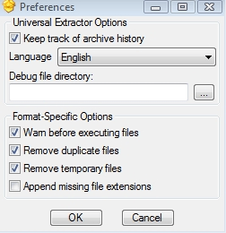 [Windows] Extract any type of archive or compressed file with