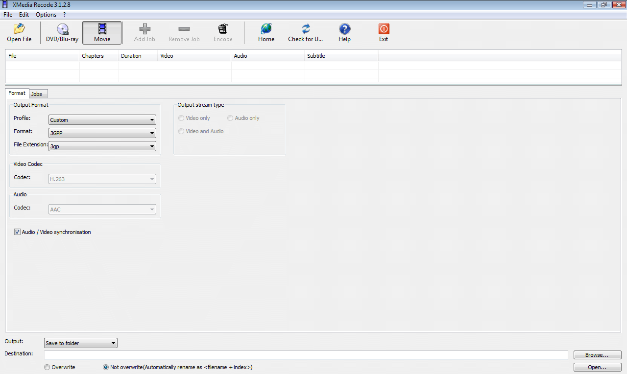 download xmedia recode portable