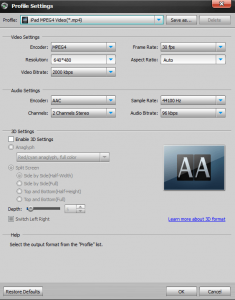 Aiseesoft Total Media Converter Platnum Screenshot