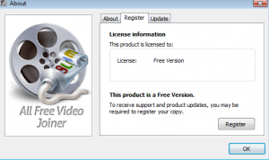 All Free Video Joiner Screenshot