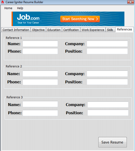 windows  build the perfect resume with career igniter resume builder