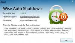 Wise Auto Shutdown Screenshot