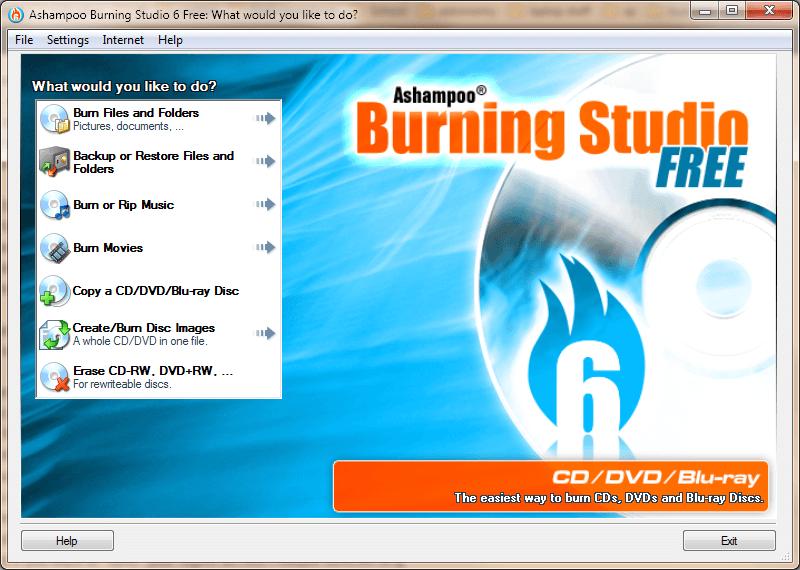 Ashampoo burning studio free 6.81 tfile.ru