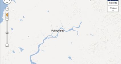 northkoreamap