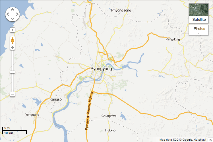 You Can Now See A Little More Of North Korea On Google Maps