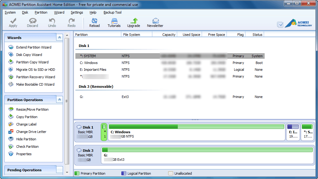 Windows] Best free partition and disk manager — EaseUS vs Paragon vs