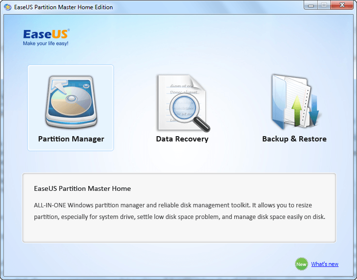 easeus all-in-one partition manager software