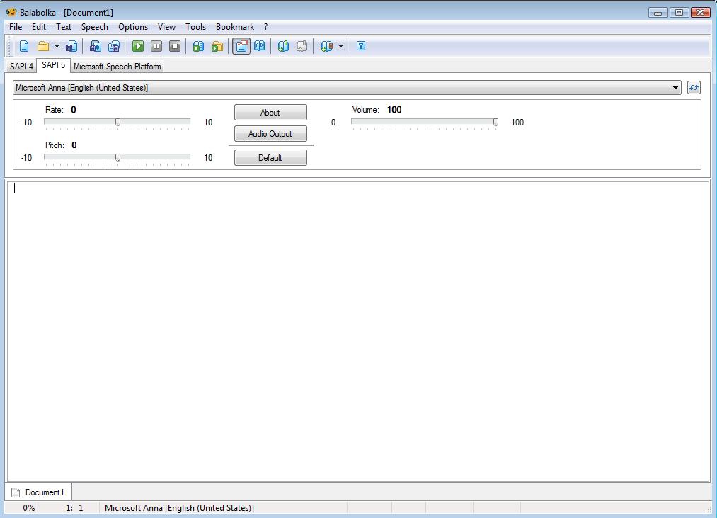 Windows] Turn text to speech with Balabolka, a portable text