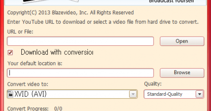 BlazeVideo YouTube Downloader