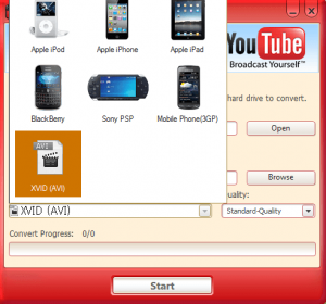 BlazeVideo YouTube Downloader Screenshot