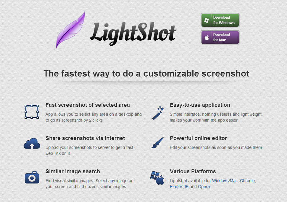 Windows] Lightshot is a portable and lightweight screenshot tool