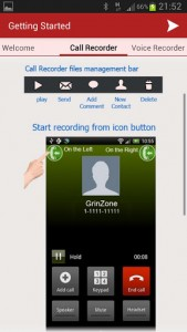 Getting started with InCall Recorder and Voice