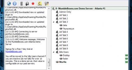 Mumble VoIP Client