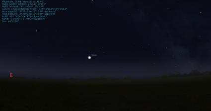 Stellarium Menu