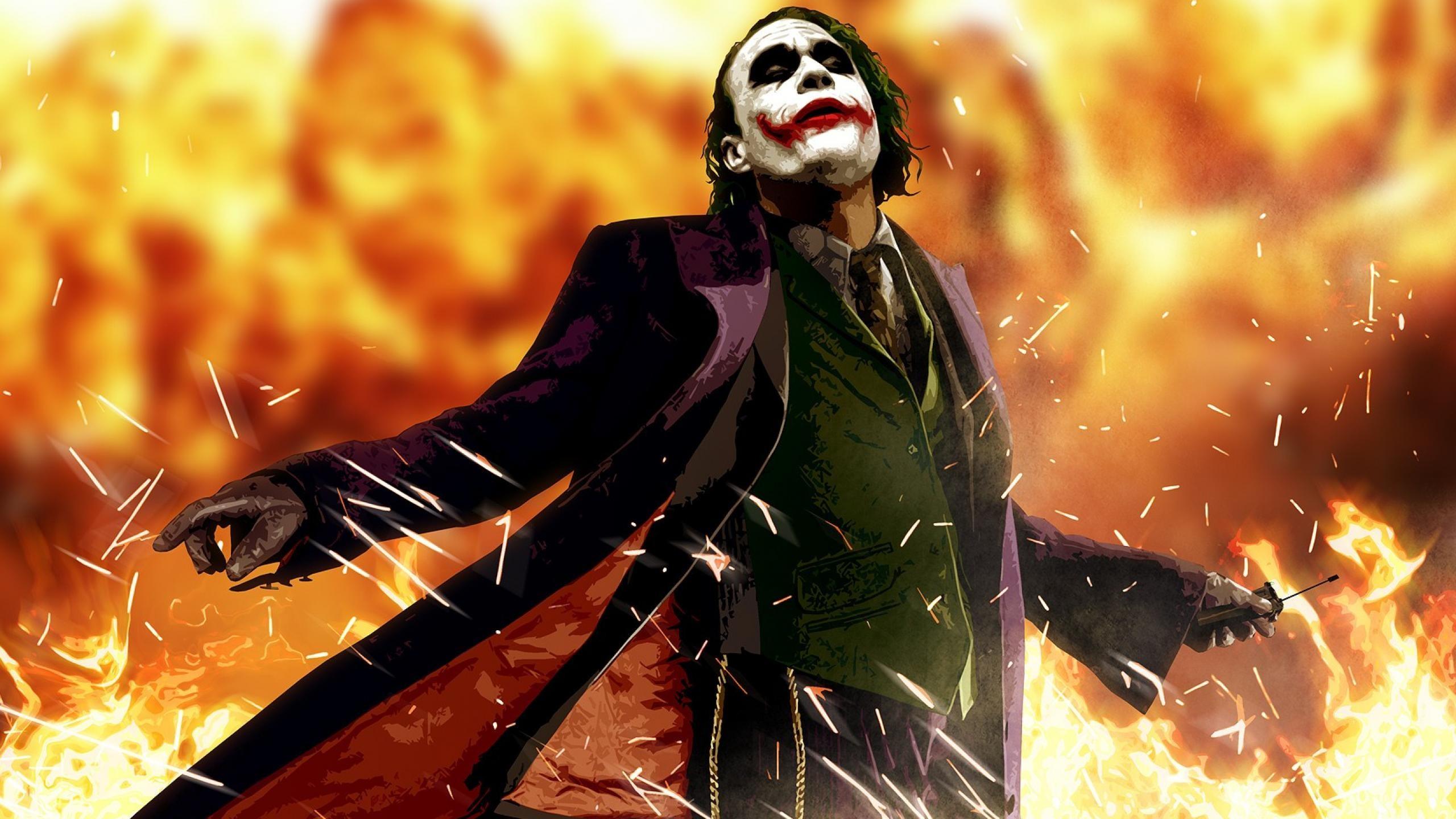 The Joker From Batman Movie The Dark Knight Wallpaper