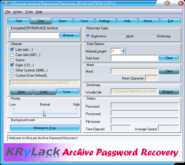 Windows] Find lost or forgotten passwords for ZIP, RAR, and
