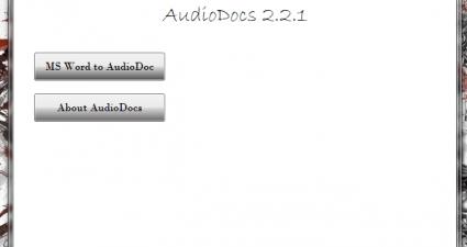 AudioDocs UI