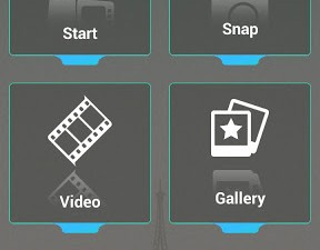 AutoGuard Blackberry Main UI