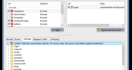 Cyotekk WebCopy UI