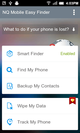 Android] Remotely wipe data, backup contacts, lock down, and
