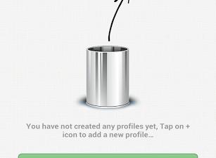 Profile Flow Dashboard