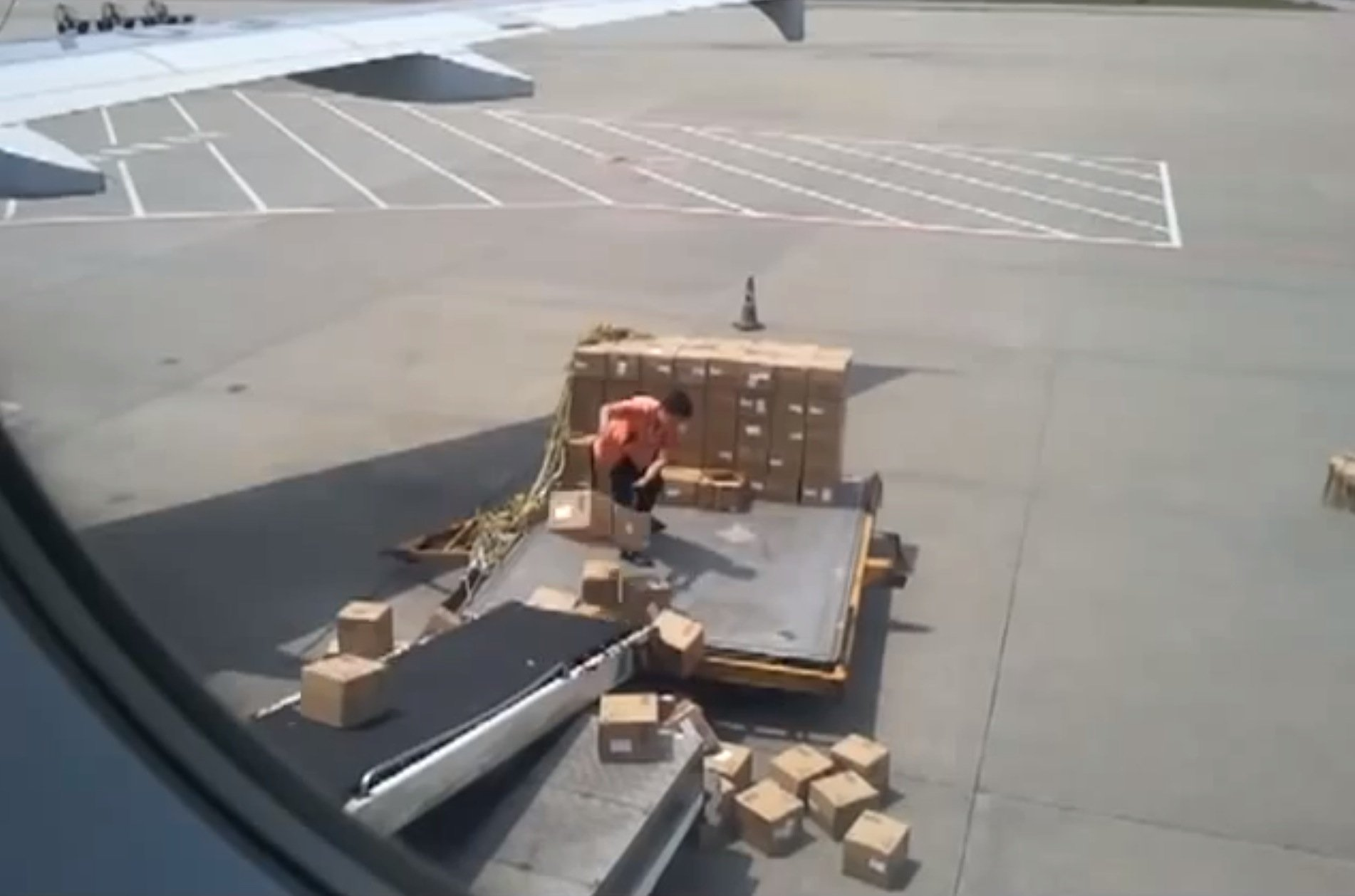This man is the worst cargo handler of all time [Video] | Reviews ...