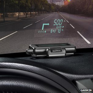 Garmin Heads up Display