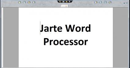 Jarte Word Processor