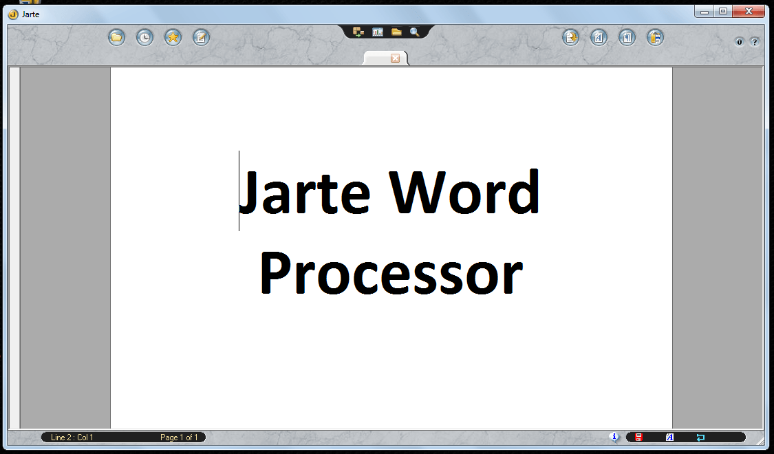 Windows] Jarte is a fast, portable, and free word processor that