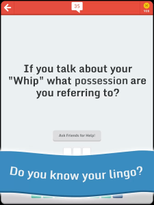 Little Lingo Word Quiz Game