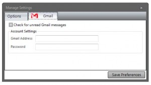 Nucleus Gmail settings